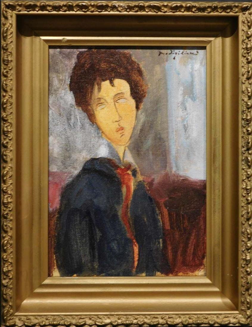 Amedeo Modigliani: Portrait of a Woman