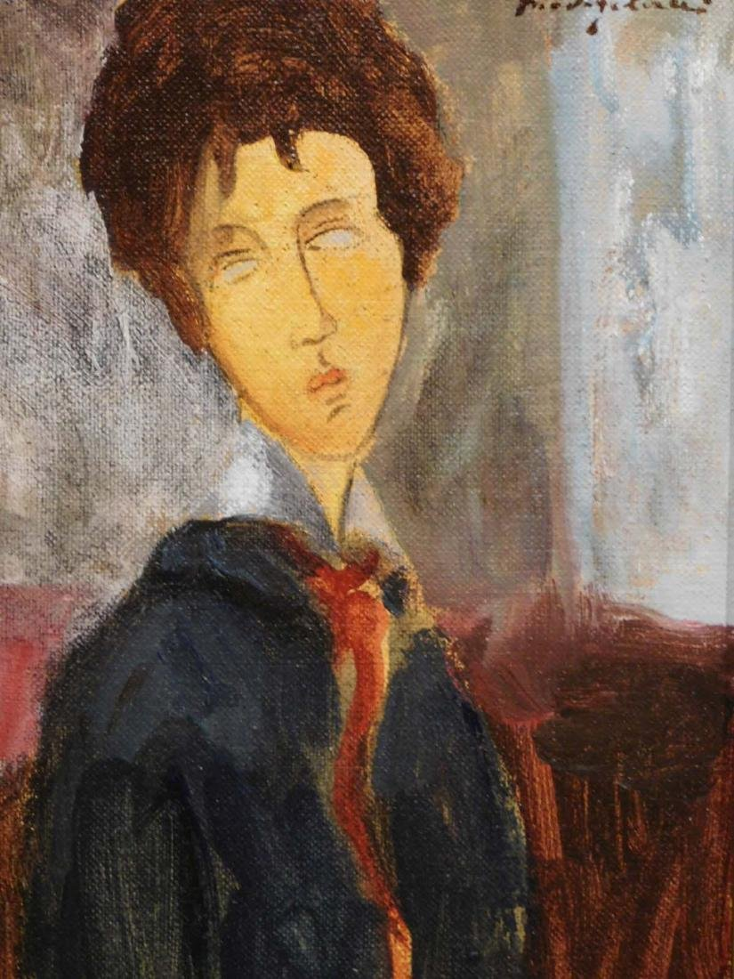 Amedeo Modigliani: Portrait of a Woman - 2