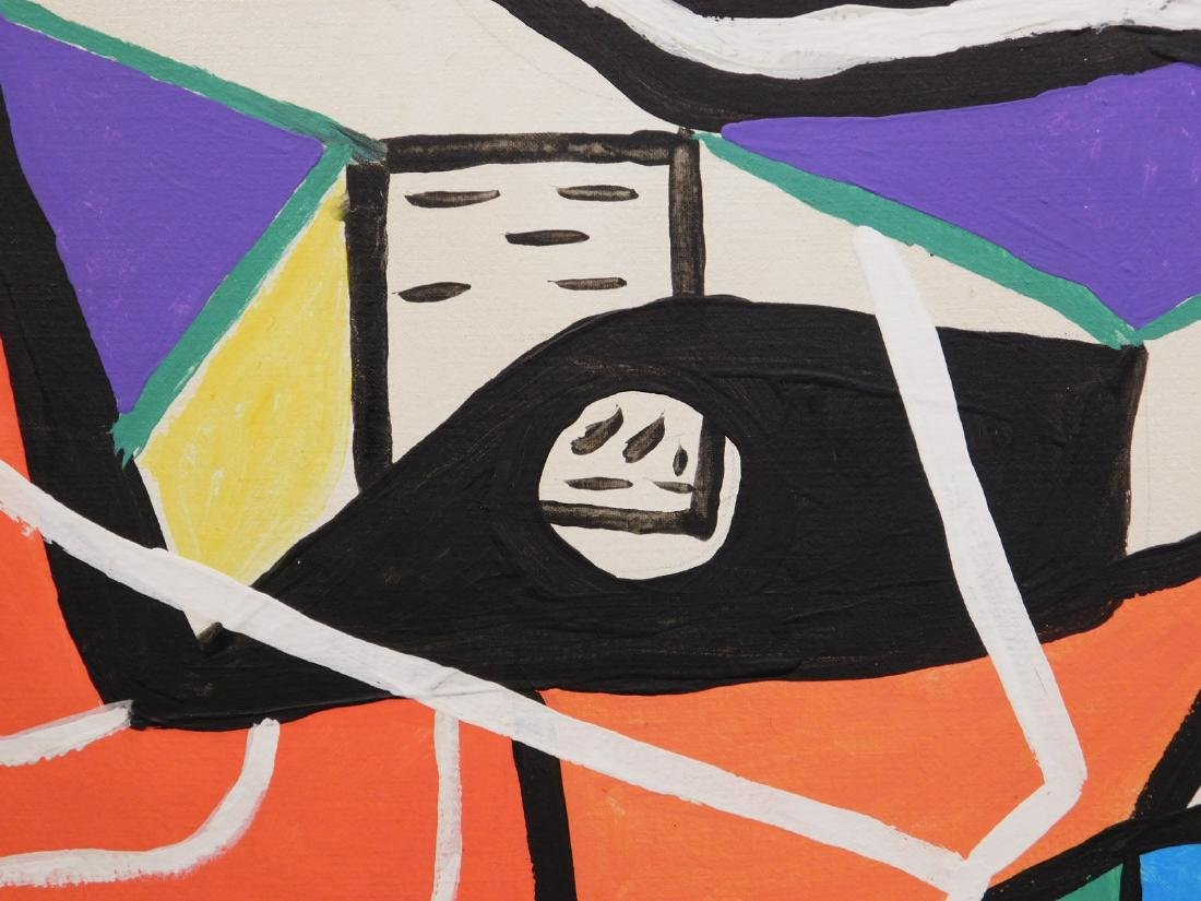 Le Corbusier: Abstract Composition - 4