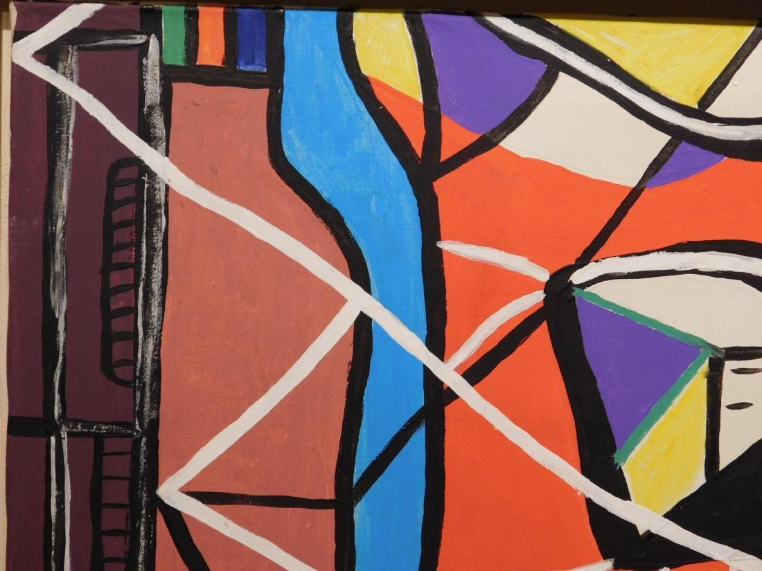 Le Corbusier: Abstract Composition - 5