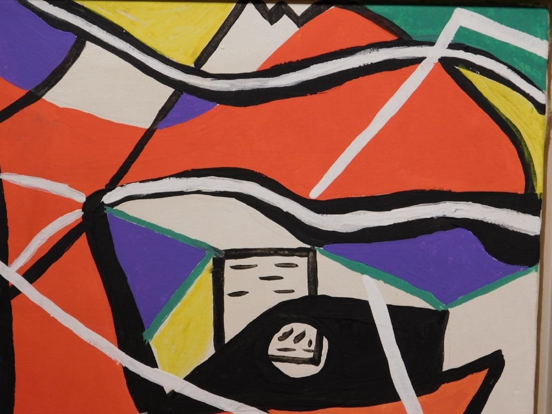Le Corbusier: Abstract Composition - 6