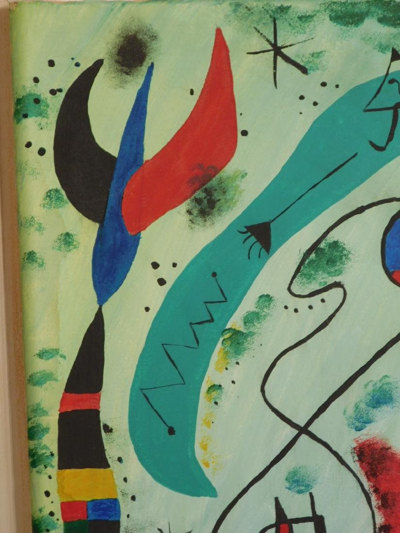 Manner of Joan Miro: Abstract Composition - 4