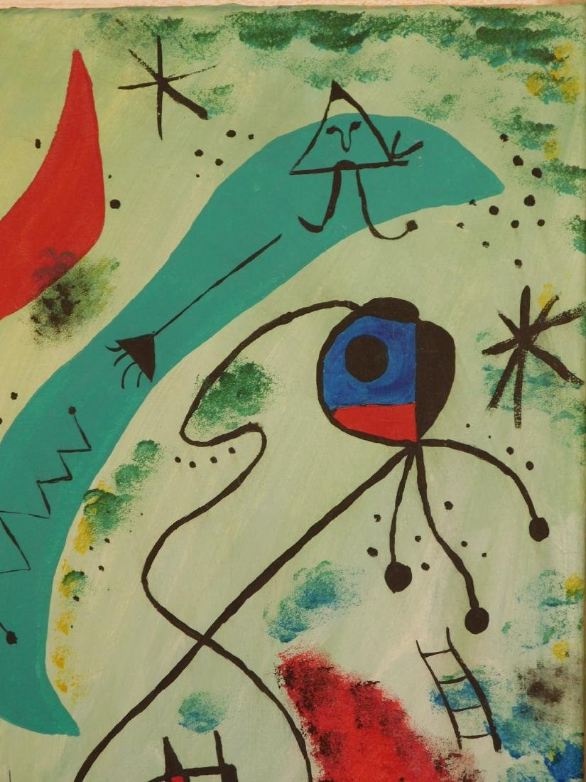 Manner of Joan Miro: Abstract Composition - 5