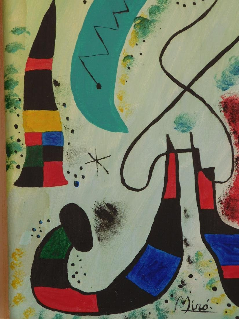 Manner of Joan Miro: Abstract Composition - 7