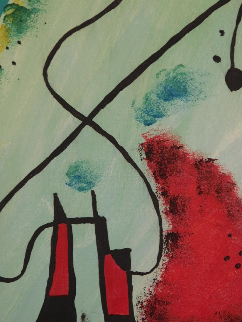 Manner of Joan Miro: Abstract Composition - 8