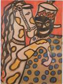 After Fernand Leger: From the Circus Album 1950