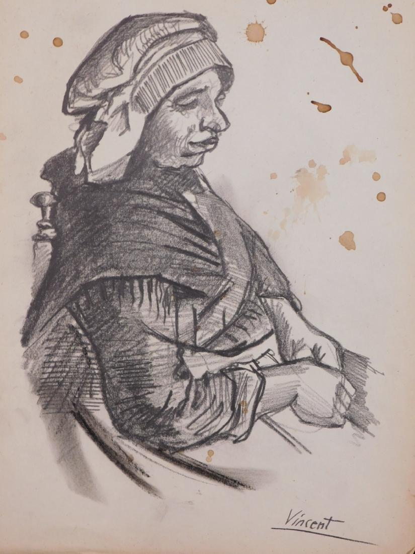 Vincent Van Gogh: Portrait of a Peasant Woman