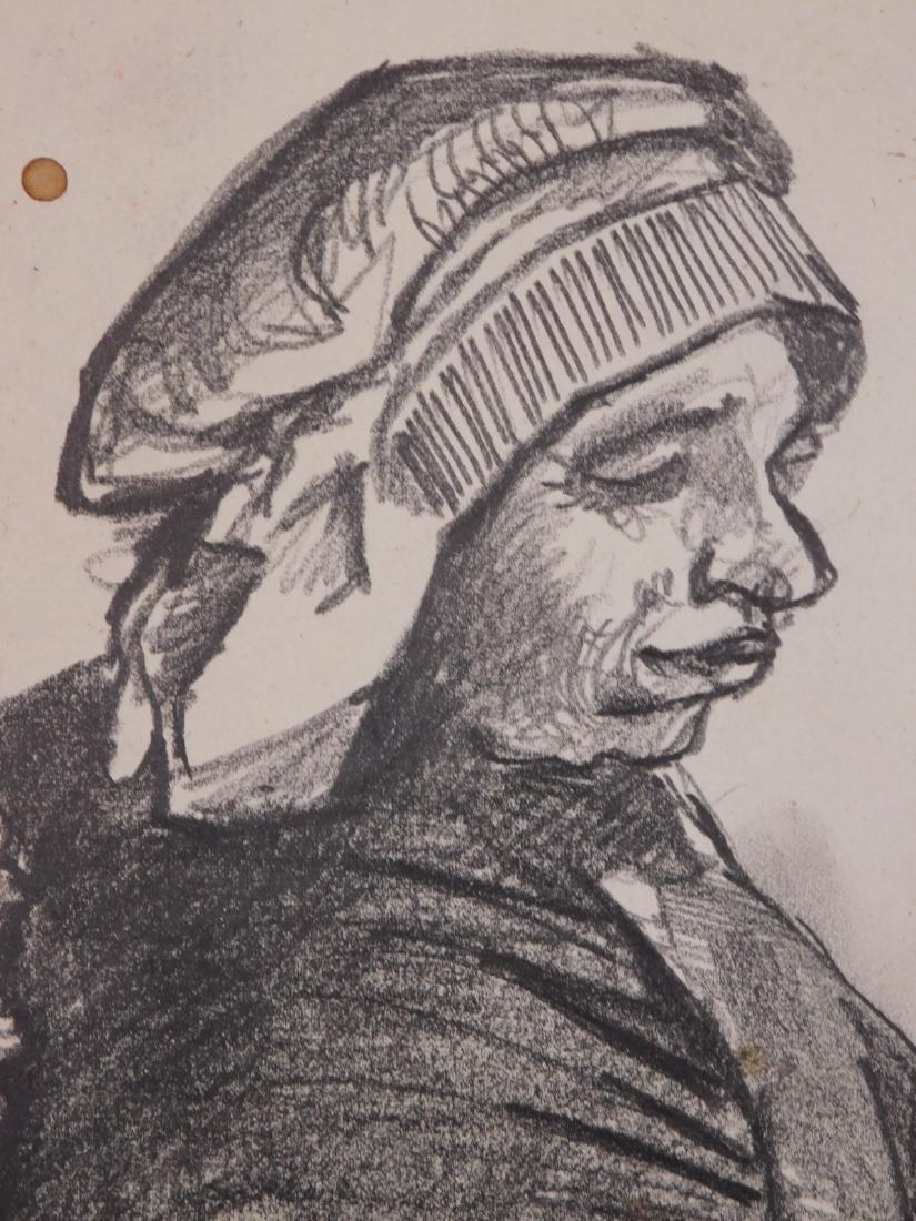 Vincent Van Gogh: Portrait of a Peasant Woman - 3