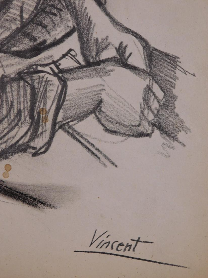 Vincent Van Gogh: Portrait of a Peasant Woman - 4