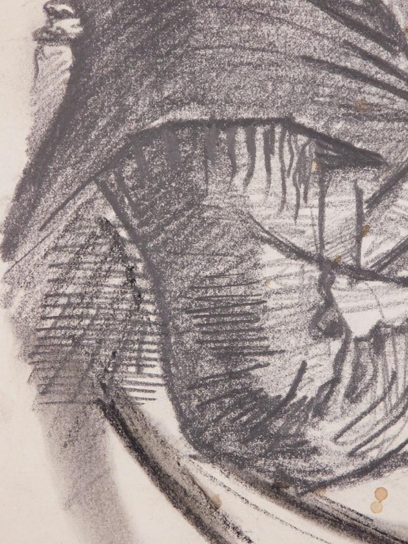 Vincent Van Gogh: Portrait of a Peasant Woman - 5