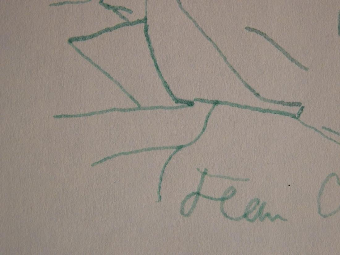 Jean Cocteau: Self-Portrait Drawing - 6