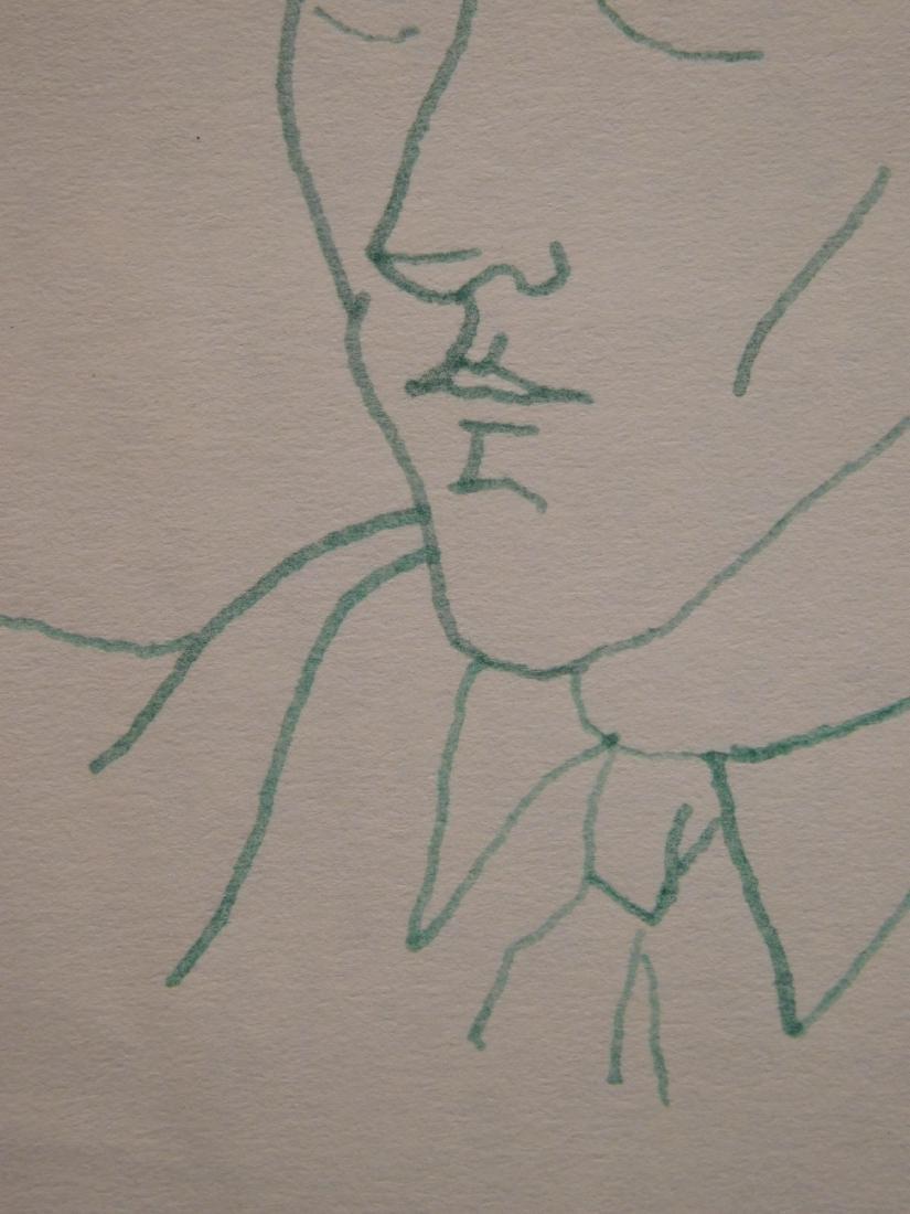 Jean Cocteau: Self-Portrait Drawing - 7