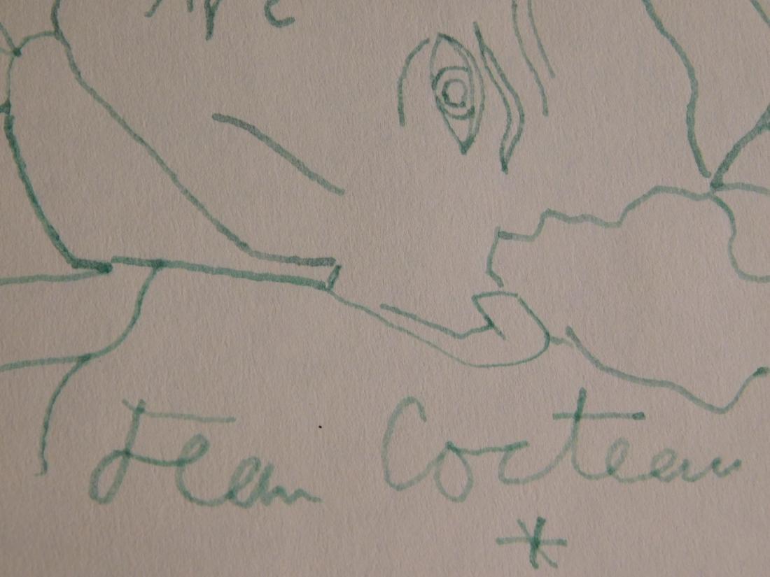 Jean Cocteau: Self-Portrait Drawing - 8