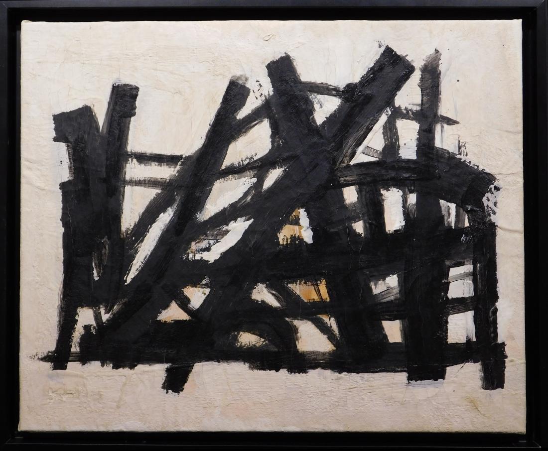 Franz Kline: Abstract Composition