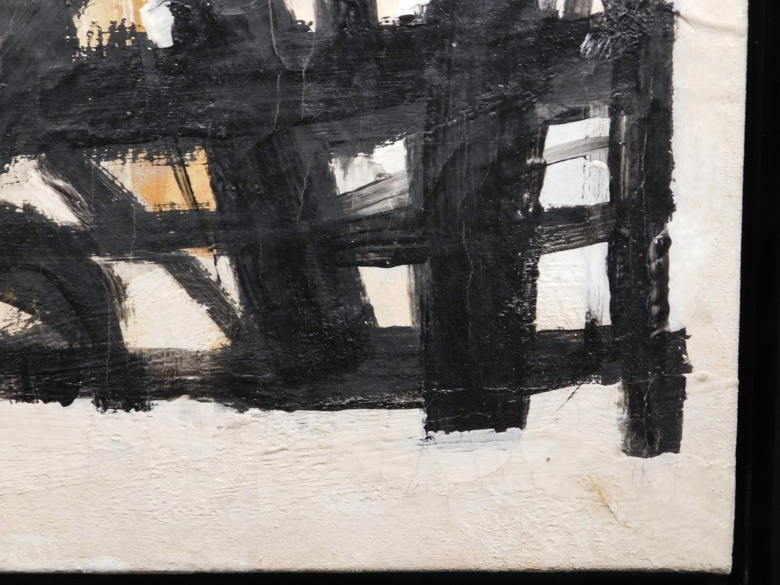 Franz Kline: Abstract Composition - 8