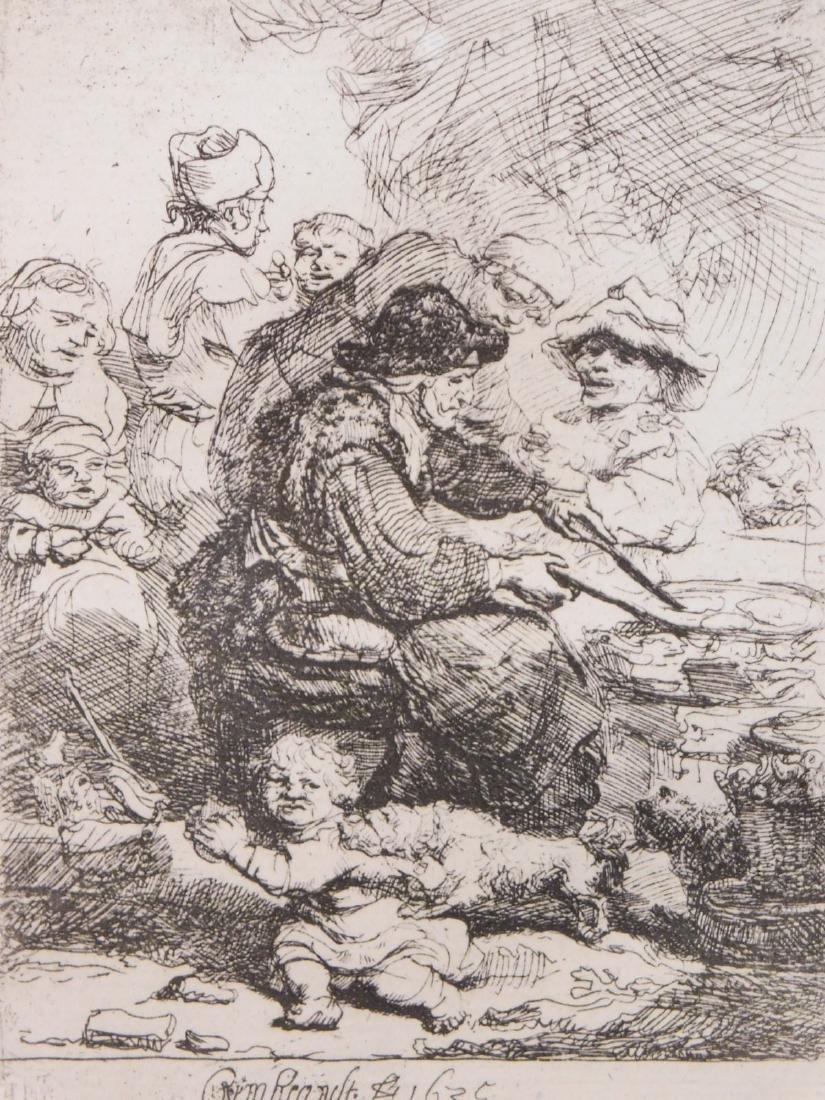 Rembrandt van Rijn: The Cook - 2