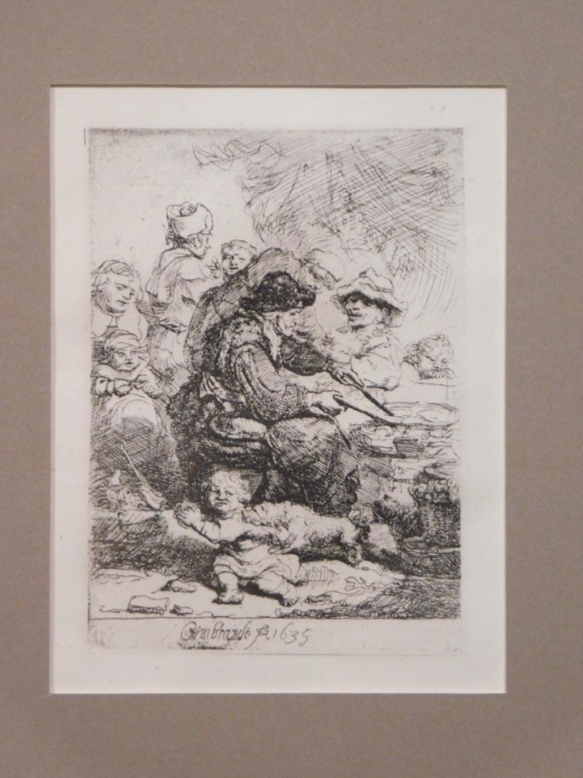 Rembrandt van Rijn: The Cook - 4