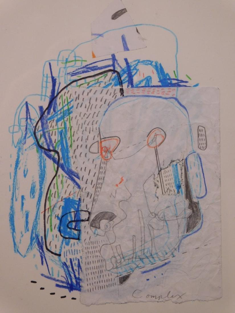 Manner of Jean-Michel Basquiat: Complex