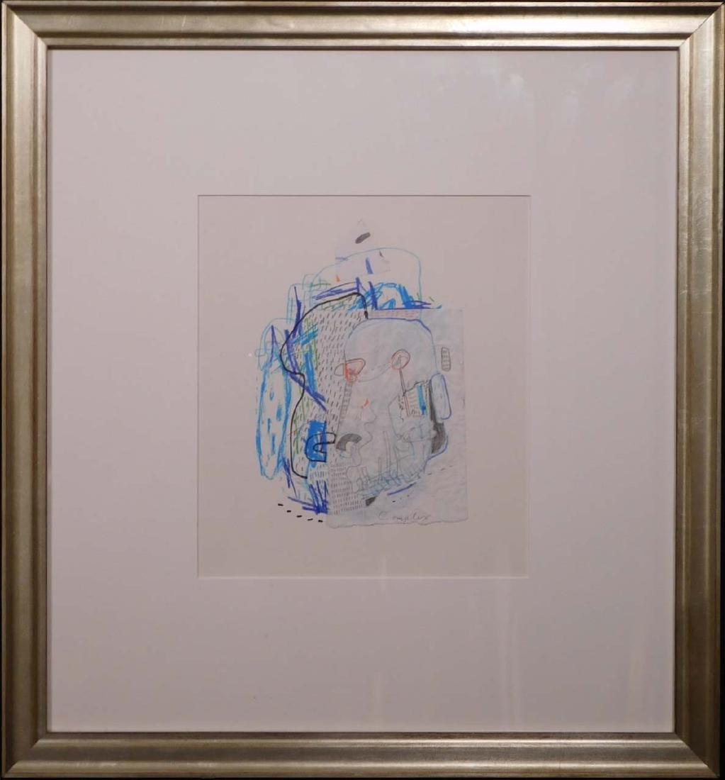 Manner of Jean-Michel Basquiat: Complex - 2
