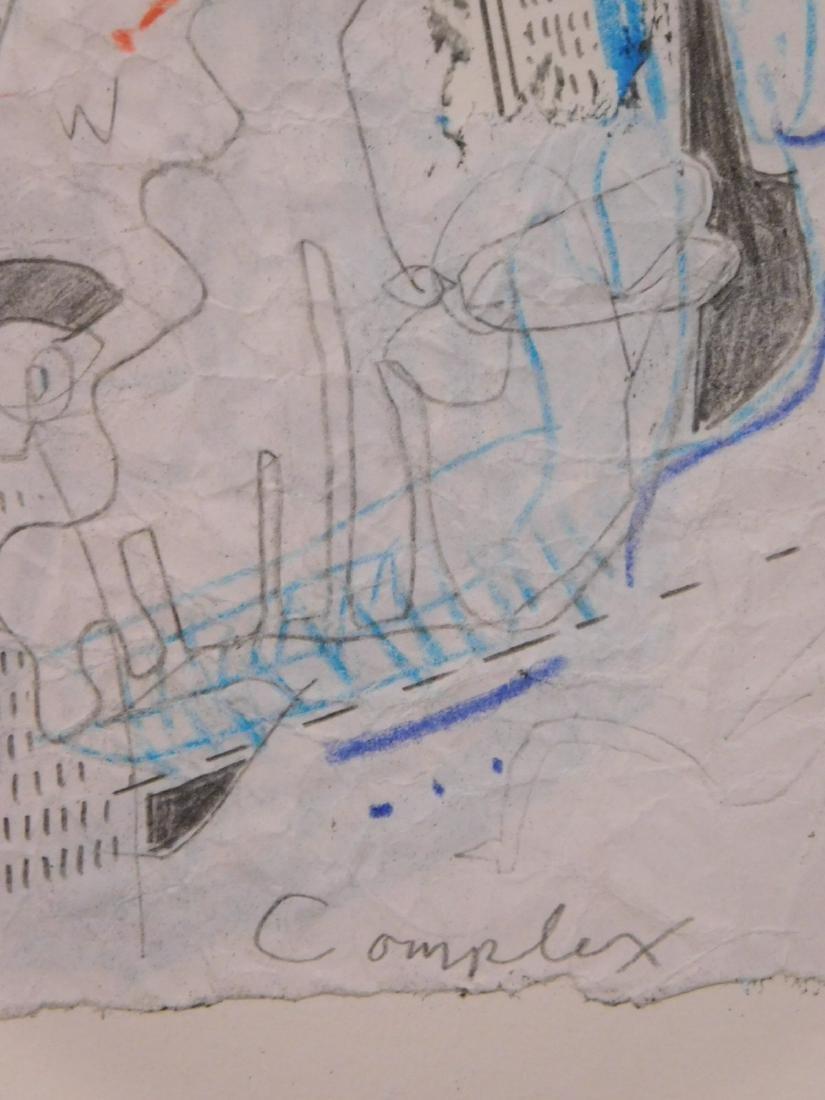 Manner of Jean-Michel Basquiat: Complex - 3
