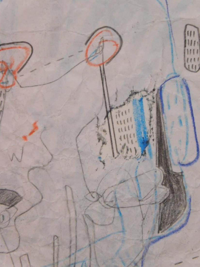 Manner of Jean-Michel Basquiat: Complex - 4