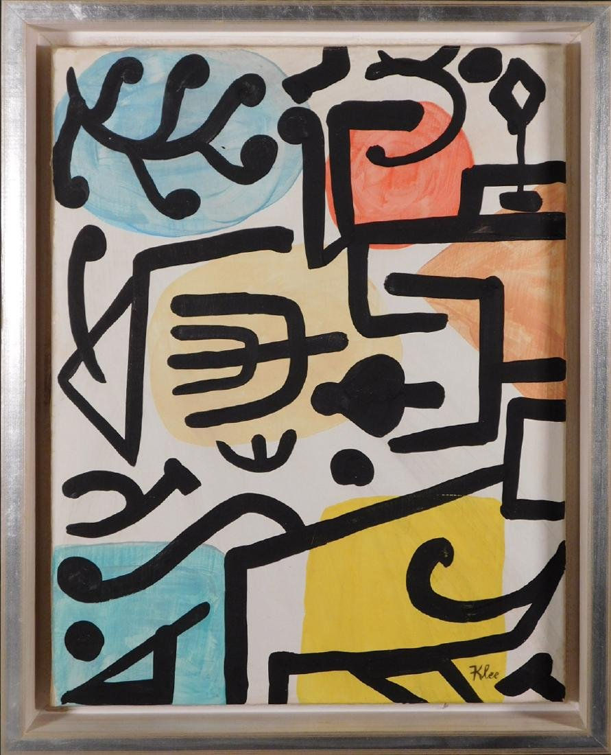 Paul Klee: Abstract Composition