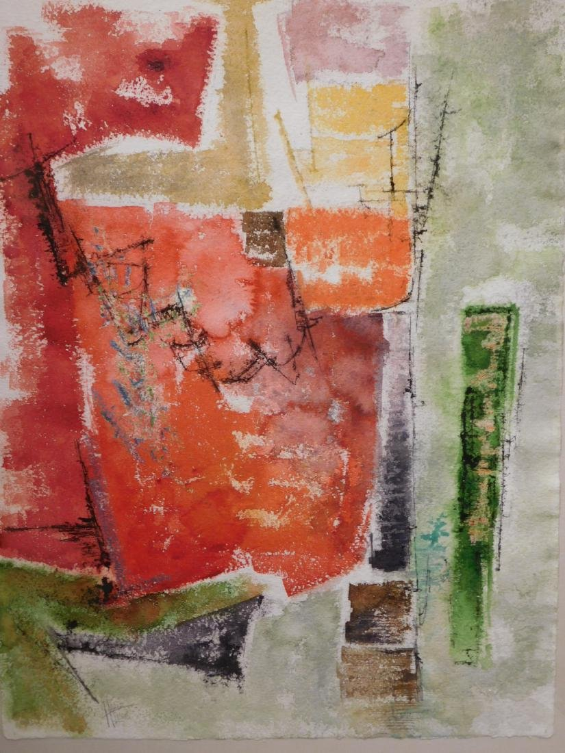 Harold Lewis: Abstract Composition
