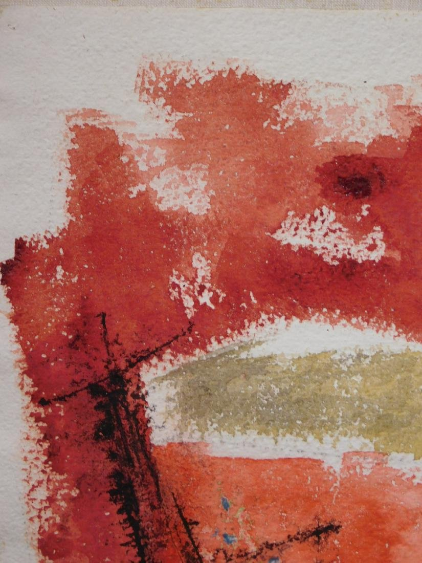 Harold Lewis: Abstract Composition - 4