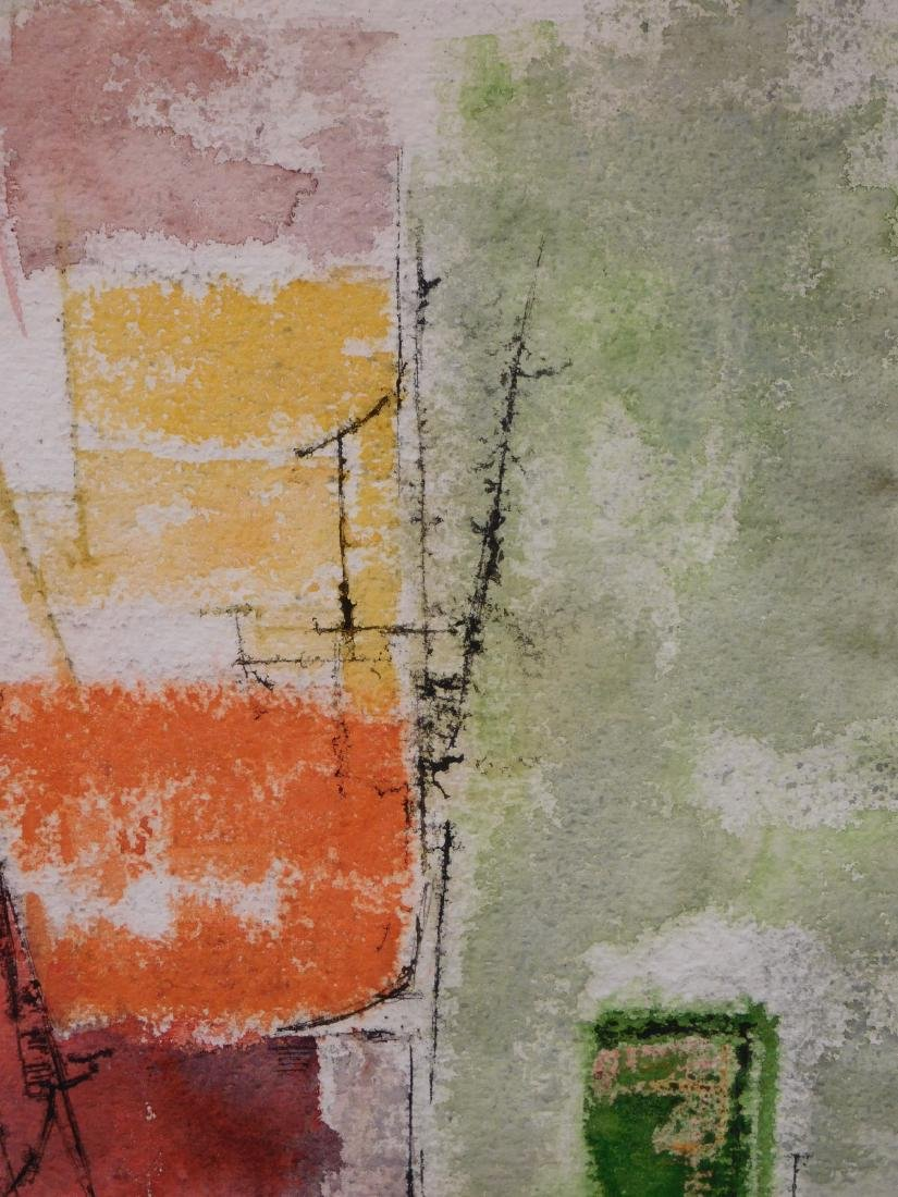 Harold Lewis: Abstract Composition - 5