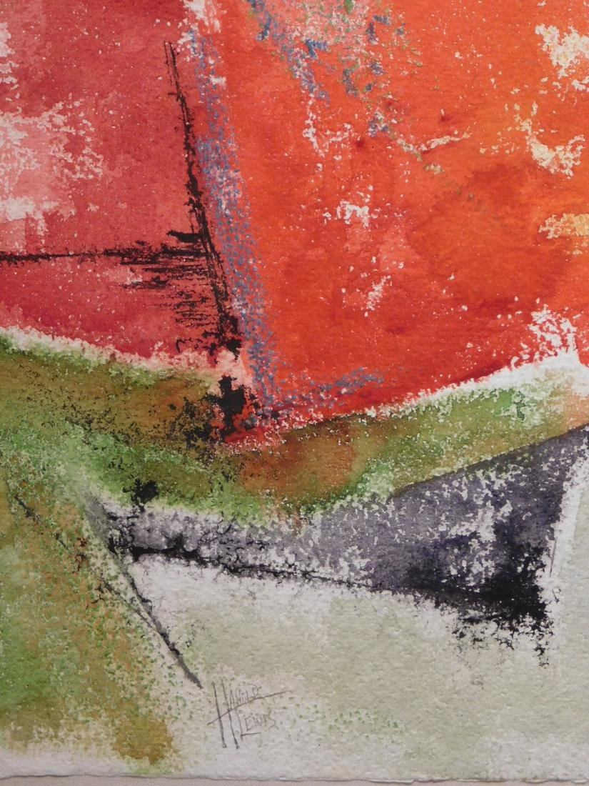 Harold Lewis: Abstract Composition - 7