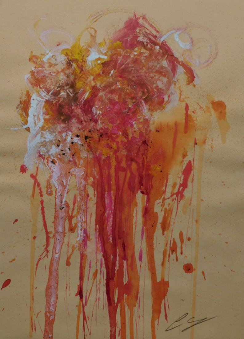 Cy Twombly: Abstract Composition