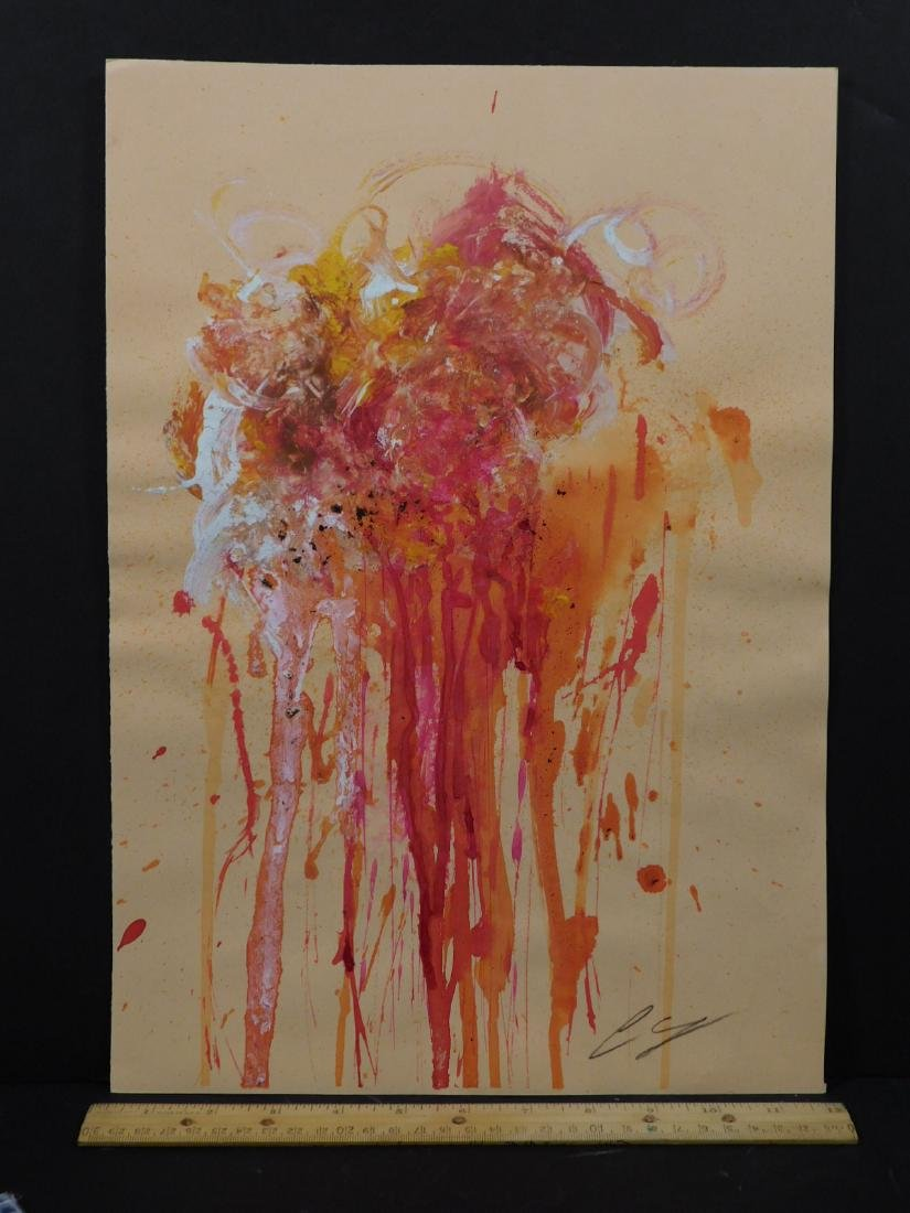 Cy Twombly: Abstract Composition - 2