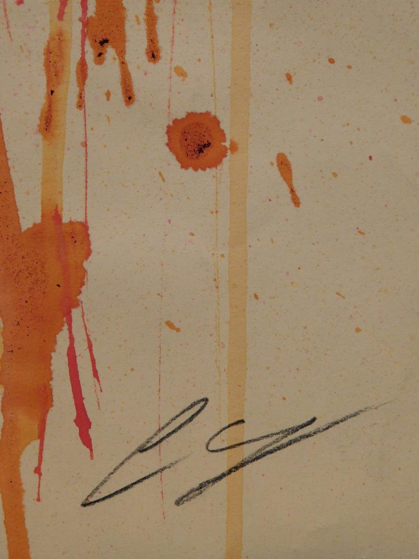 Cy Twombly: Abstract Composition - 4