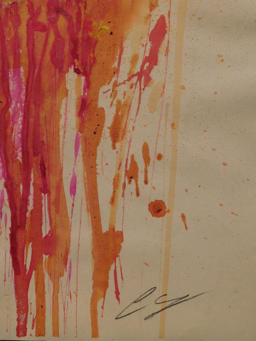 Cy Twombly: Abstract Composition - 7