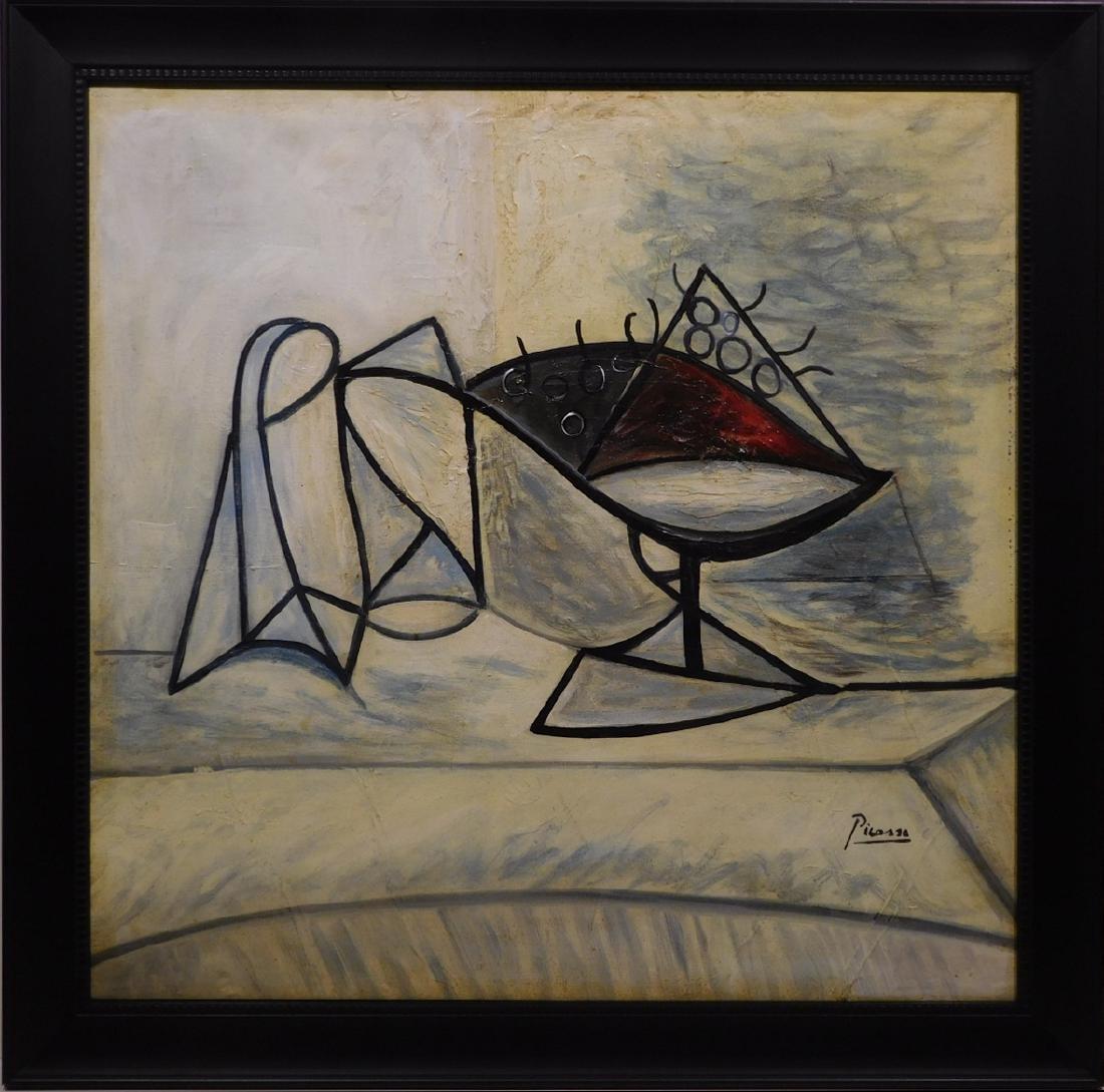 Pablo Picasso: Cubist Still Life