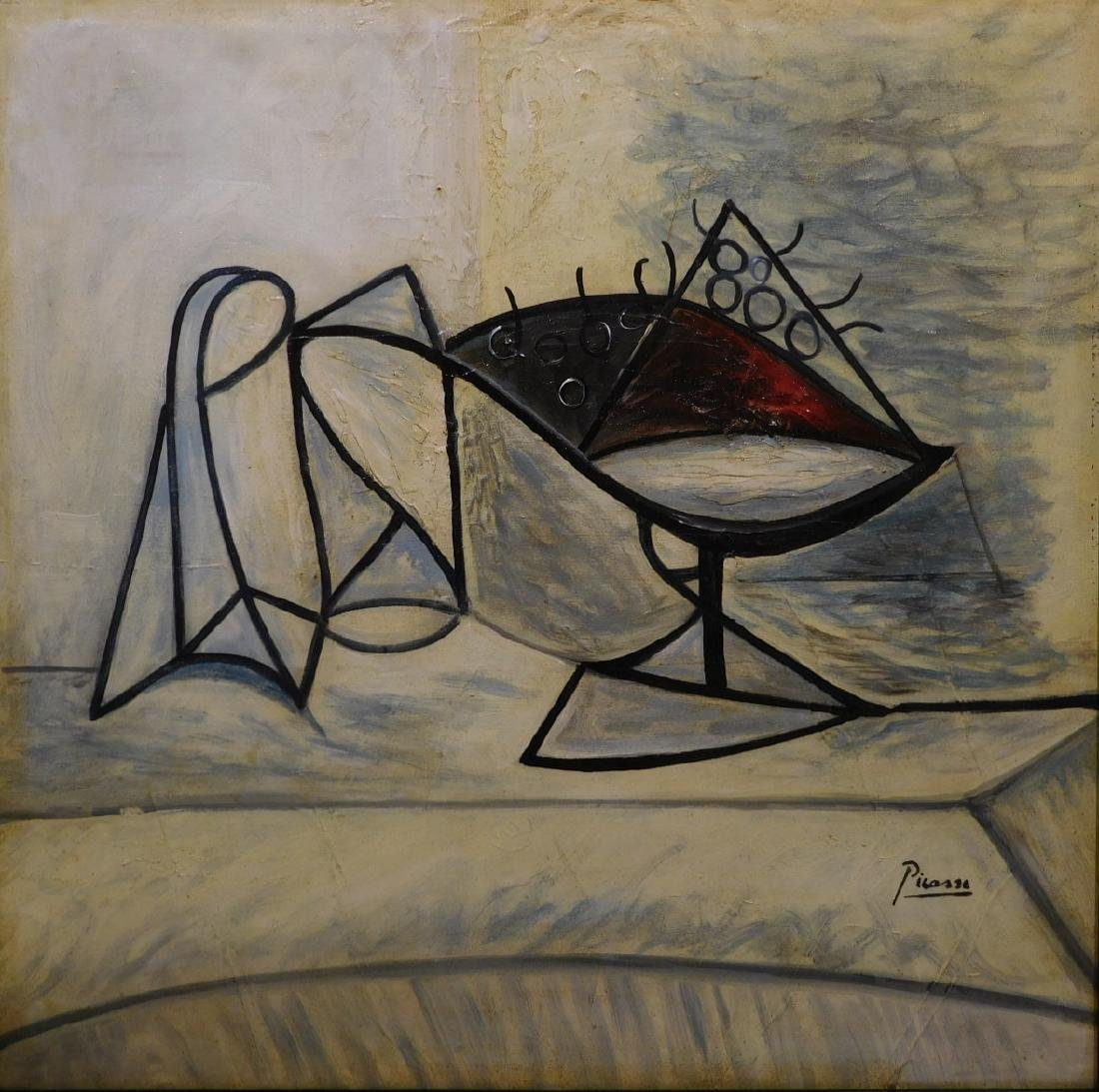 Pablo Picasso: Cubist Still Life - 2