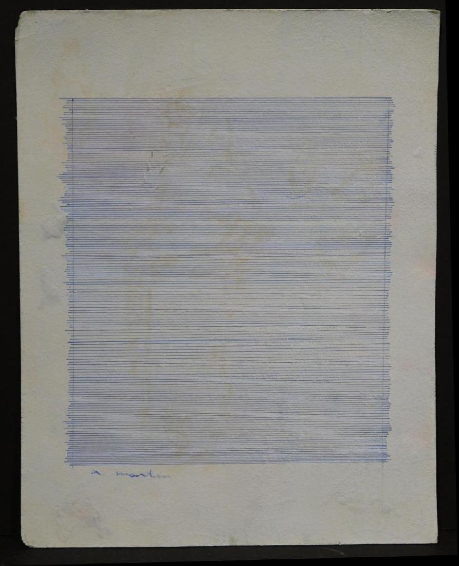 Agnes Martin (1912-2004): Abstract Composition - 2