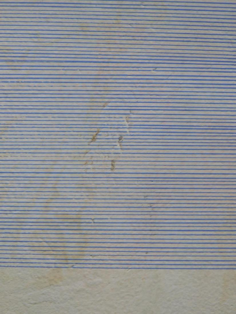 Agnes Martin (1912-2004): Abstract Composition - 4