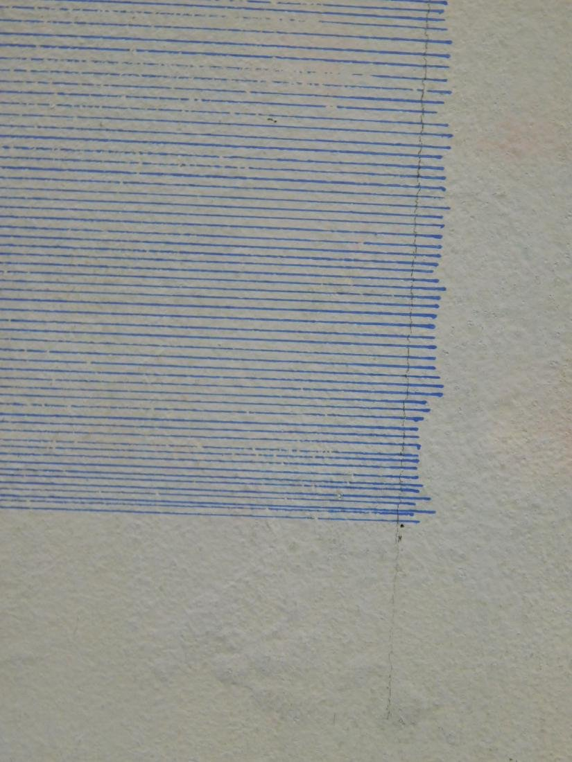 Agnes Martin (1912-2004): Abstract Composition - 5
