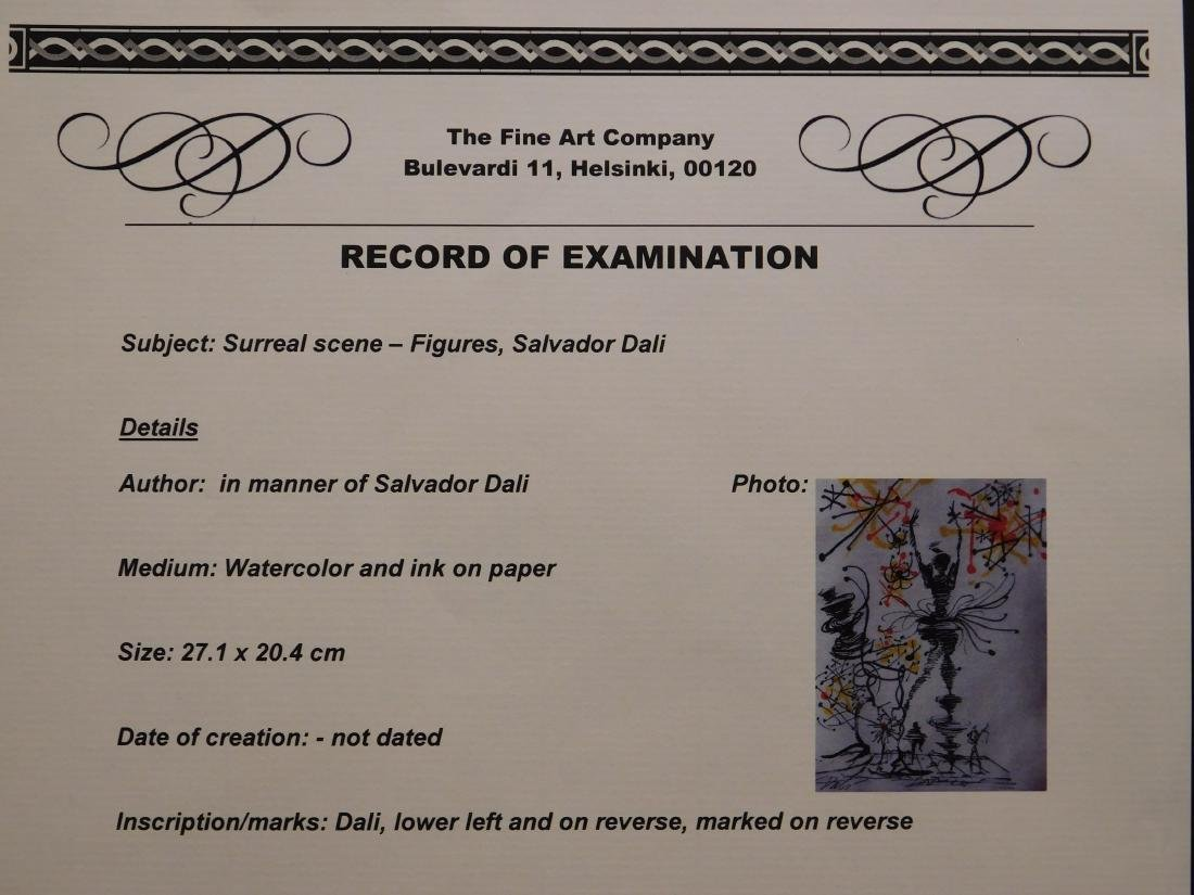 Salvador Dali: Surreal Scene - Figures - 10