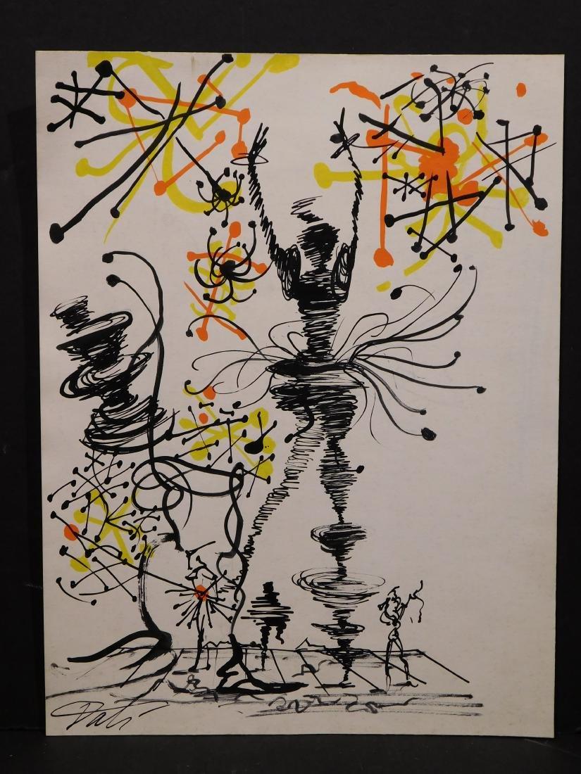 Salvador Dali: Surreal Scene - Figures - 2