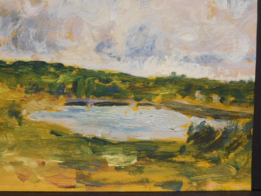 Alfred Sisley: Lake in the Countryside - 6