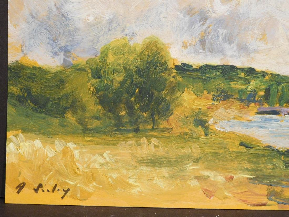 Alfred Sisley: Lake in the Countryside - 7
