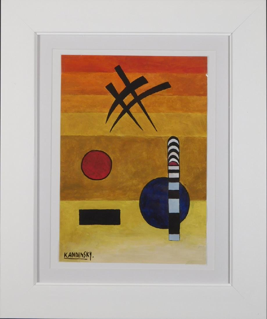 Wassily Kandinsky: Abstract Painting
