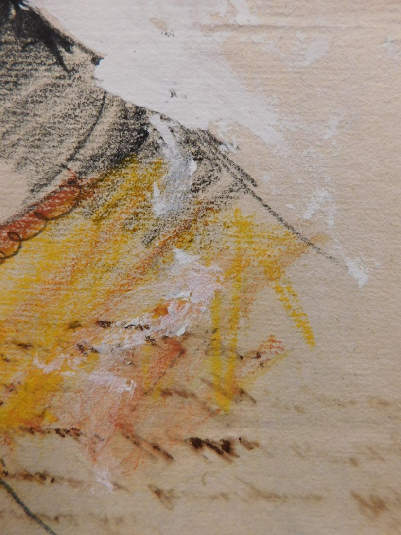 After Eugene Delecroix: Man w/ Turban - 3