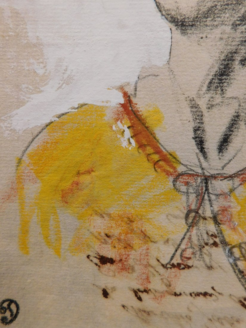 After Eugene Delecroix: Man w/ Turban - 4