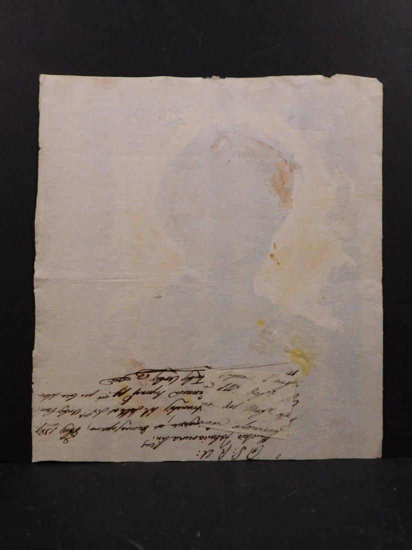 After Eugene Delecroix: Man w/ Turban - 5
