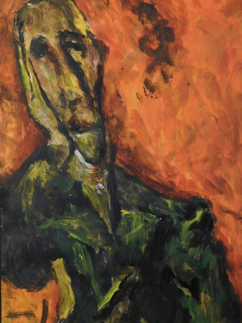 Chaim Soutine: Portrait of a Man