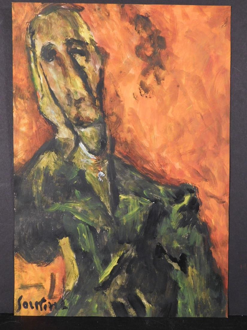 Chaim Soutine: Portrait of a Man - 2