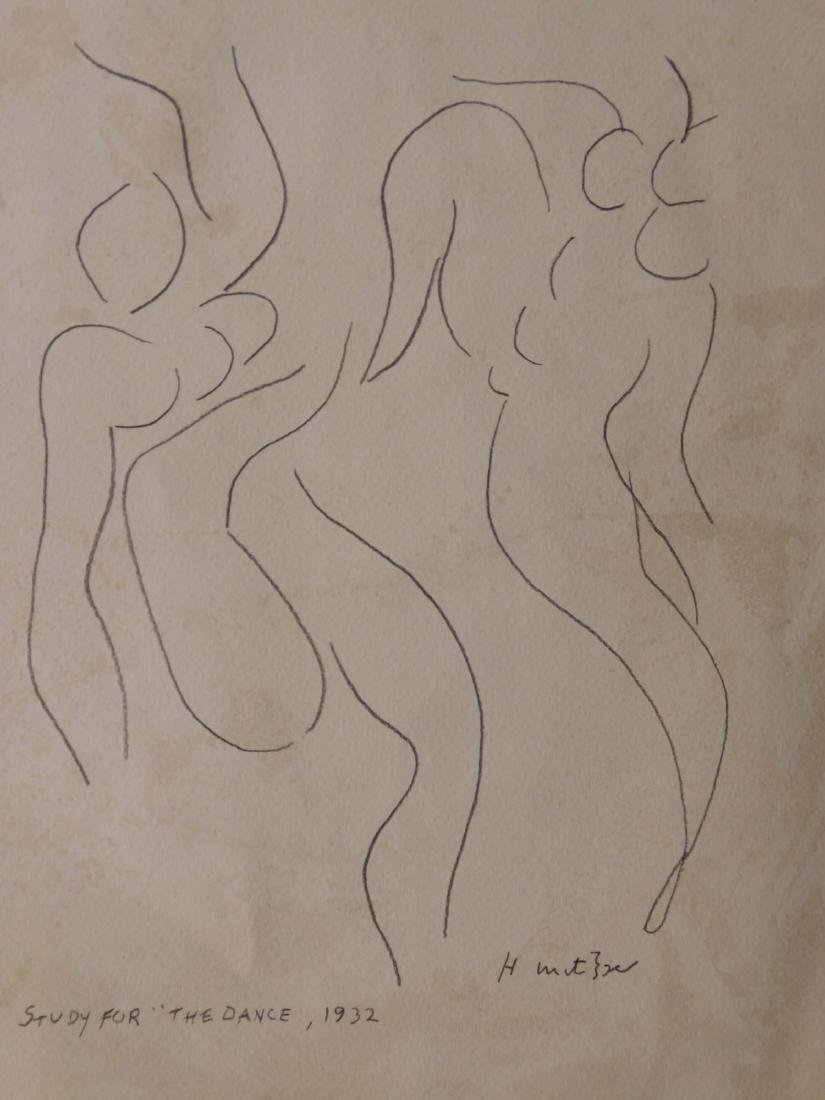 "After Henri Matisse: Study for ""The Dance"", 1932."